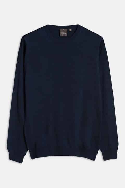 Custer Roundneck Blue 64398023 210 Front