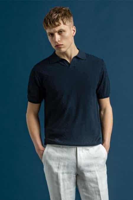 Barrol Poloshirt Ss 215 Faded Light Blue 69114972 215 List