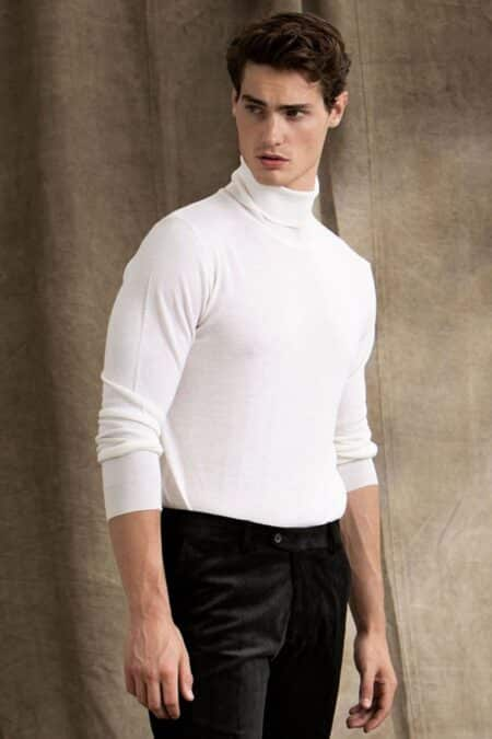 Cole Rollneck 913 Off White 65028023 913 List