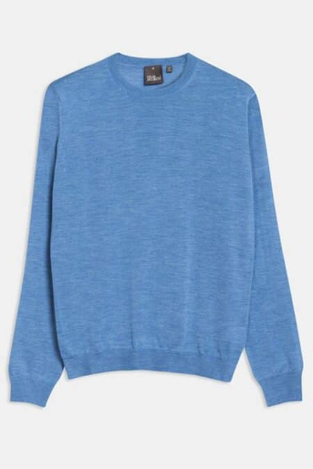 Custer Roundneck Blue 64398023 259 Front