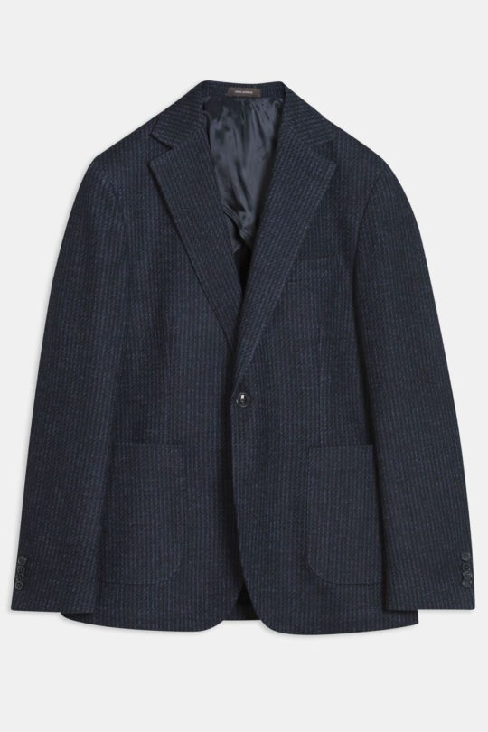 Ferry Patch Blazer French Blue 31725267 220 Front